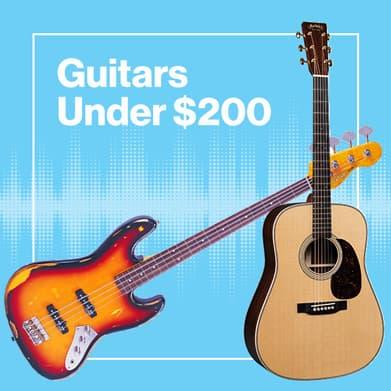 Guitars Under $200